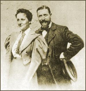 Elisabeth and Felix Leseur in 1910.