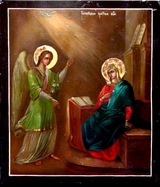 The Annunciation, Central Russia, late 1800's. (Photo © Slava Gallery, LLC; used with permission.)